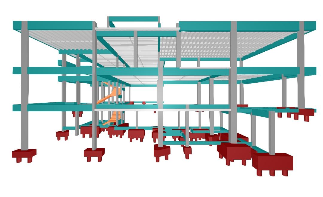 Extremamente Projeto Estrutural Residencial - Galeria de Projetos AltoQi AE19