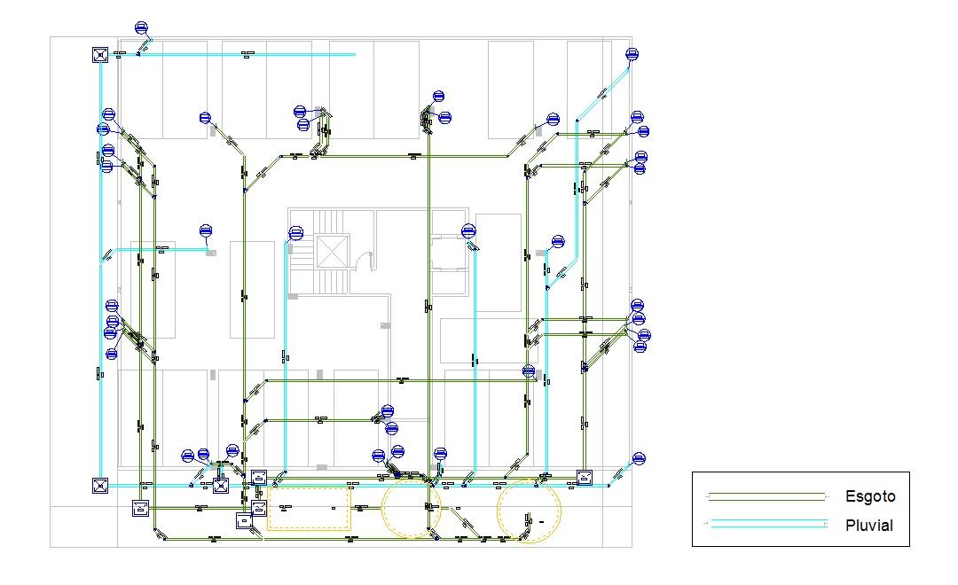 Edif cio residencial nelo galeria de projetos altoqi for Plantas para estanques de agua fria