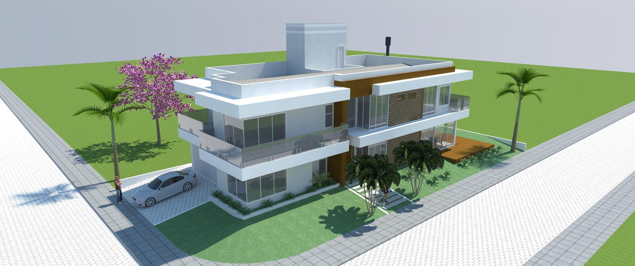 Fabuloso Projetos integrados - Casa JE - Galeria de Projetos AltoQi VL78